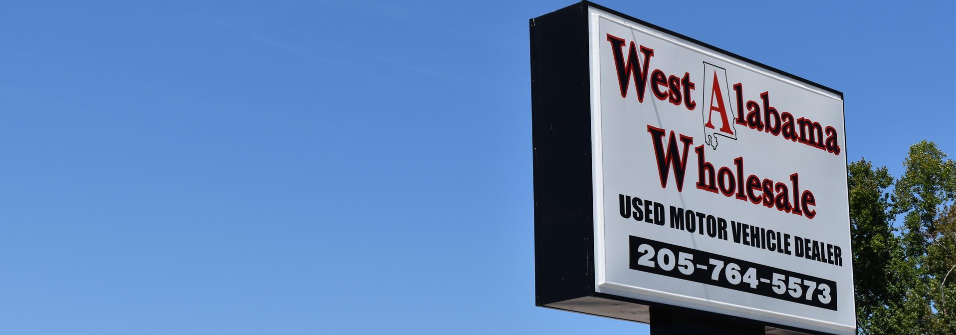 West alabama wholesale tuscaloosa al new used cars trucks sales service
