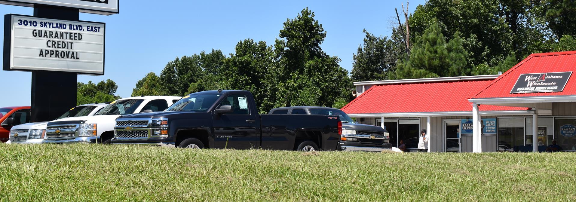 West Alabama Wholesale Tuscaloosa AL | New & Used Cars Trucks Sales ...