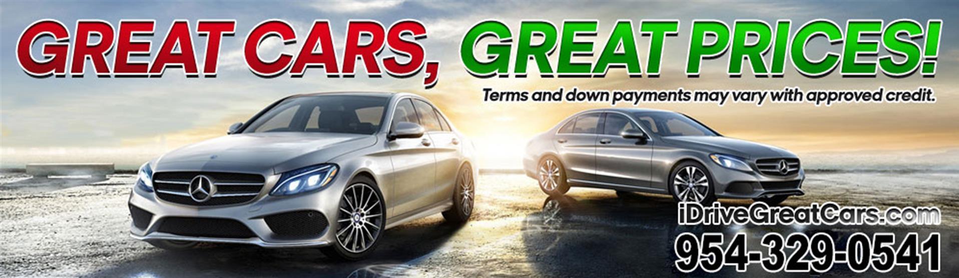 Used Cars Miami Gardens FL   Used Cars & Trucks FL   iDrive