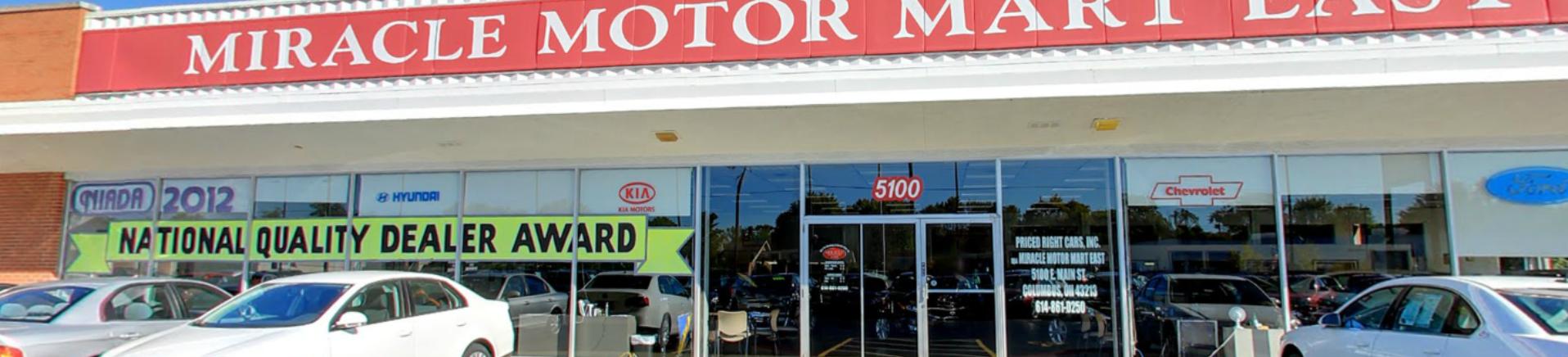 Miracle motor mart east main st