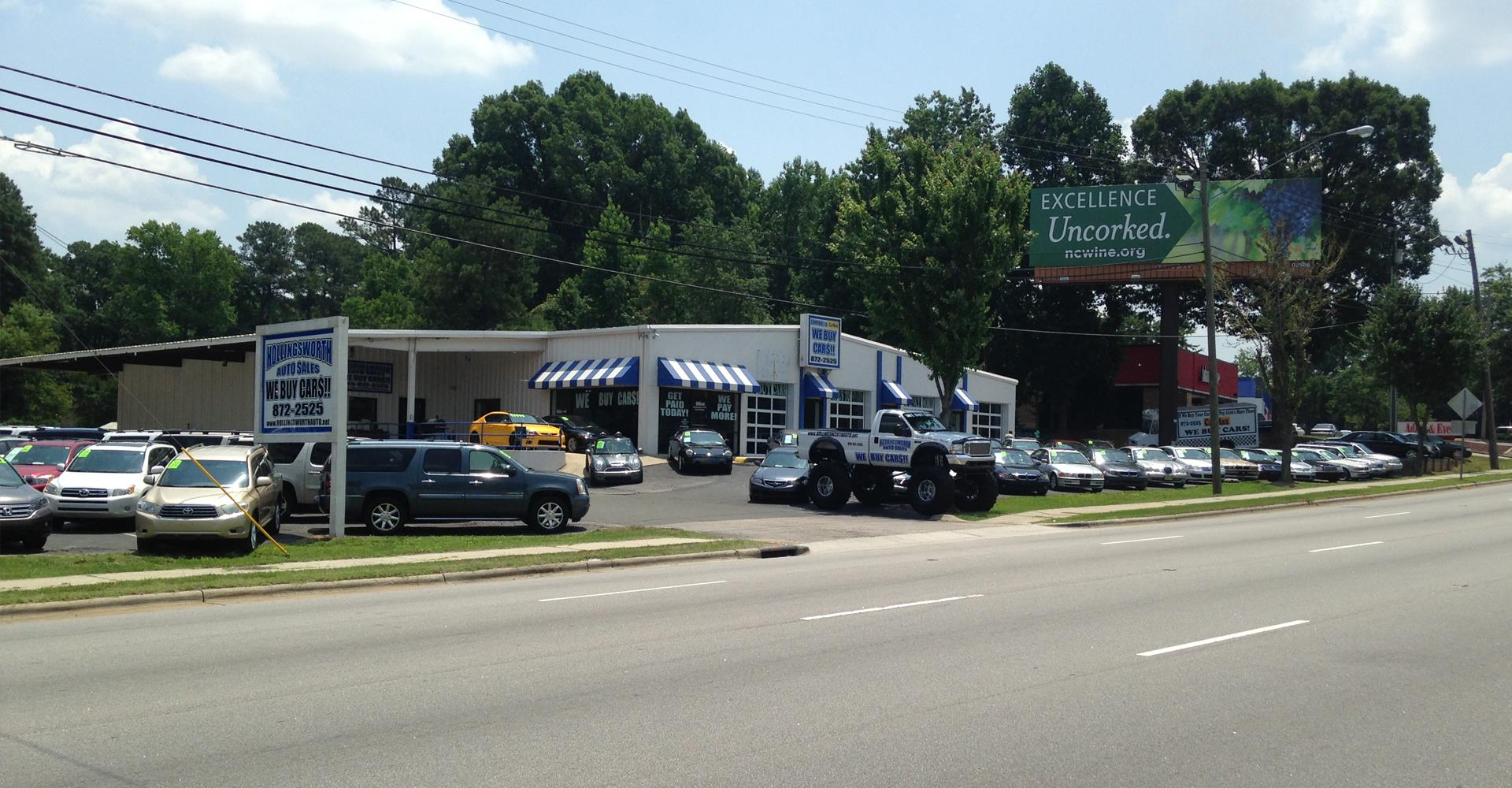 Hollingsworth auto sales of raleigh raleigh nc new for Raleigh honda dealers