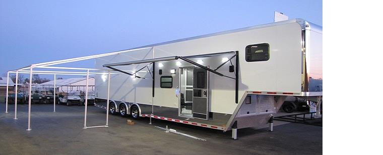 Get Pre Approved For A Car Loan >> Custom Trailers Toy Haulers United Trailers Bravo Intech Elliot's Trailers and Carts