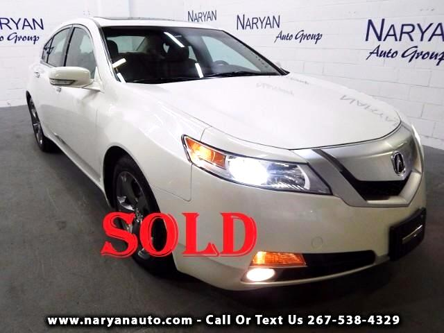 2010 Acura TL 5-Speed AT SH-AWD with Tech Package and NAVIGATION