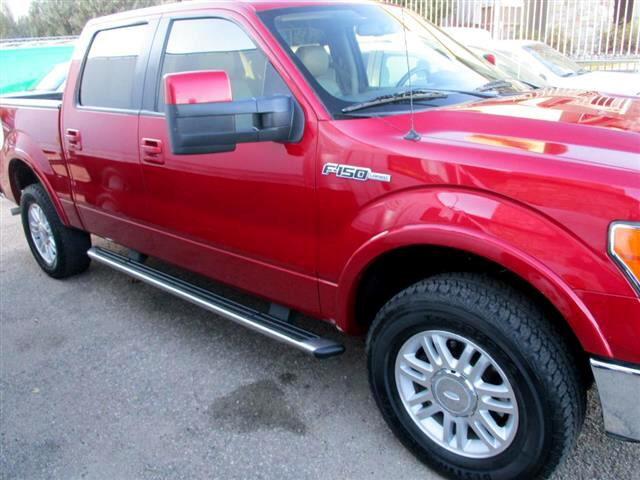"2010 Ford F-150 SuperCrew Crew Cab 139"" Lariat"