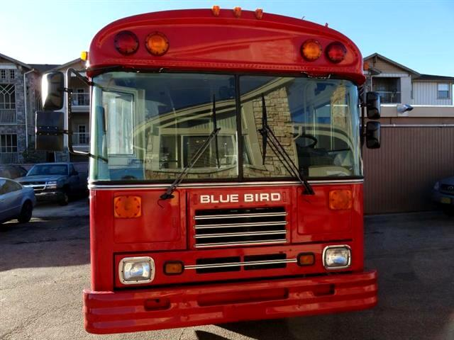 1995 Blue Bird TC2000 BBQ BUS CONVERSION