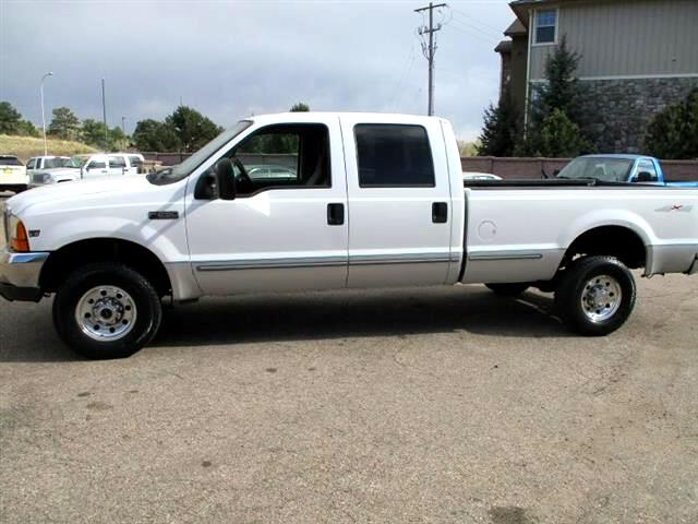 1999 Ford F-250 SD XLT Crew Cab Long Bed 4WD