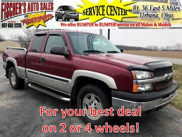 2004 Chevrolet Silverado 1500 Z71 Ext. Cab Short Bed 4WD