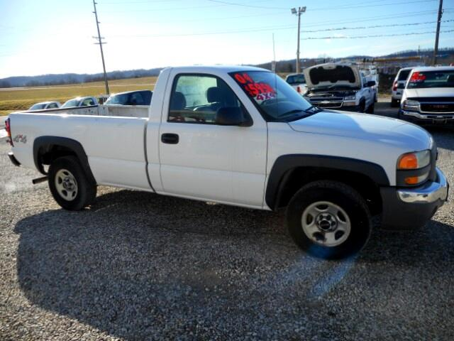 2004 GMC Sierra 1500 Work Truck Short Bed 4WD