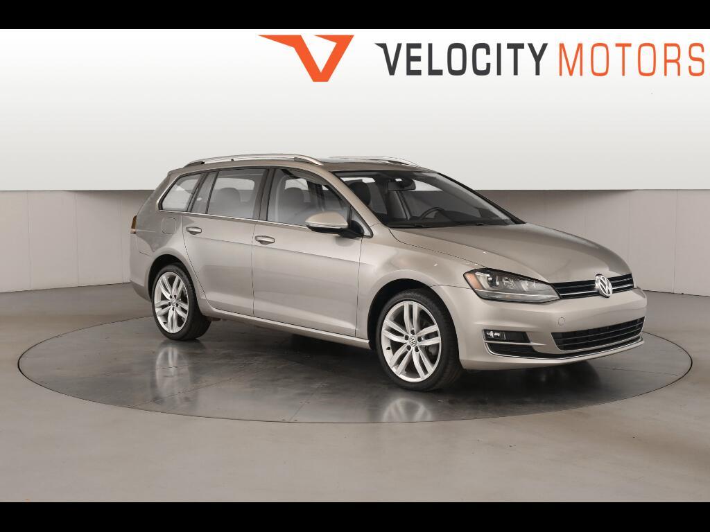 2015 Volkswagen Golf SportWagen TDI SEL 6A