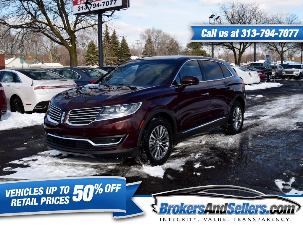 2017 Lincoln MKX Select AWD