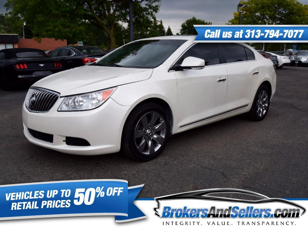 2012 Buick LaCrosse Premium Package 1, w/Leather AWD