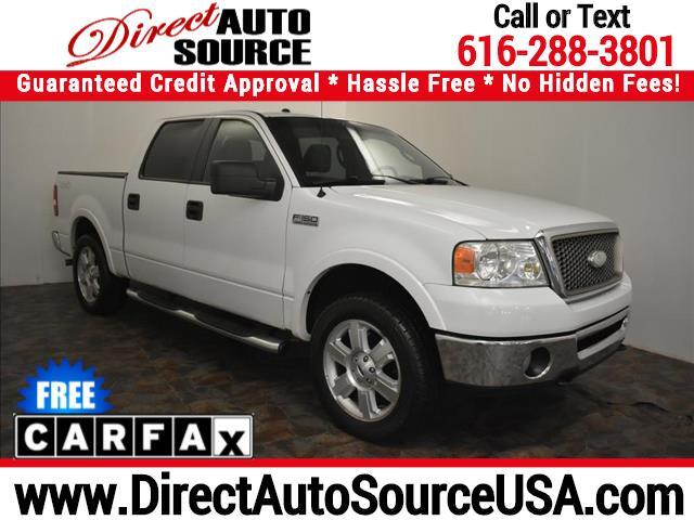 "2008 Ford F-150 4WD SuperCrew 150"" Lariat"