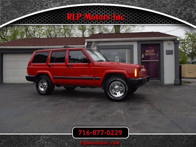 2000 Jeep Cherokee Sport 4-Door 4WD