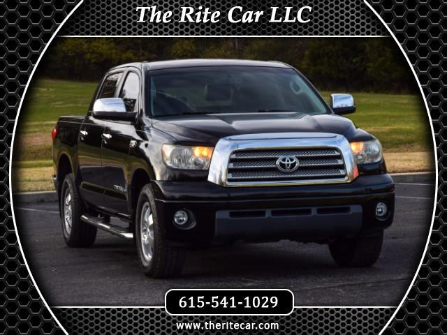 2007 Toyota Tundra Limited CrewMax 6AT 2WD