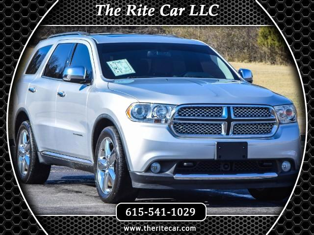 2011 Dodge Durango Citadel AWD with 5.7L Hemi