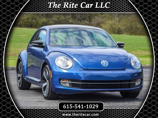 2013 Volkswagen Beetle 2.0T Turbo w/Sunroof & Sound