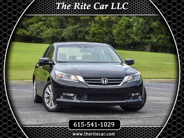 2014 Honda Accord EX-L Sedan AT with Navigation System