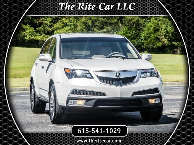 2013 Acura MDX 6-Spd AT w/Advance and Ent. Pkg