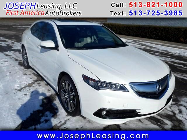 2015 Acura TLX 9-Spd AT w/Advance Package