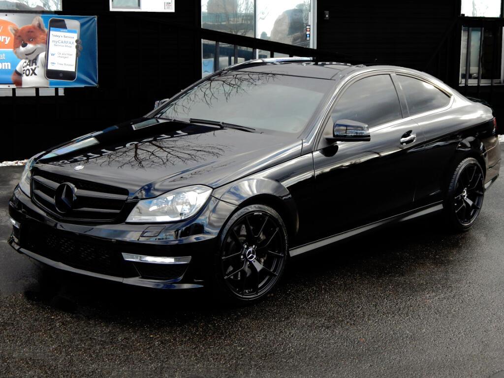 2013 Mercedes-Benz C-Class C250 AMG Sport Pkg Coupe