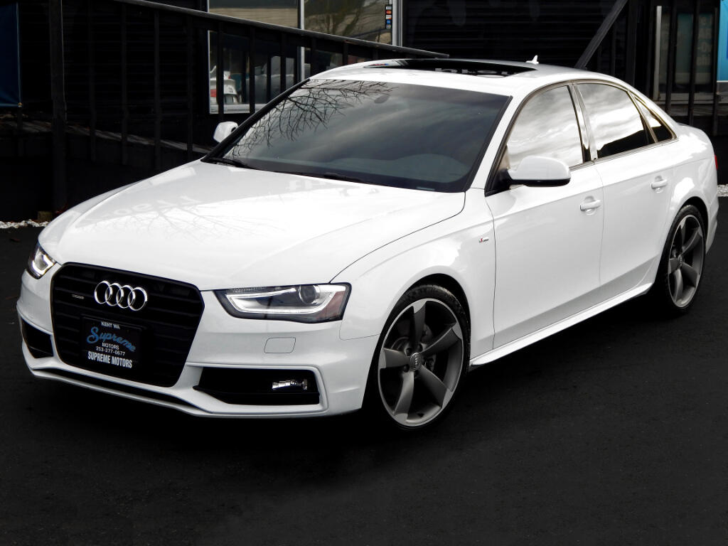 2015 Audi A4 2.0T S-Line Sport Package