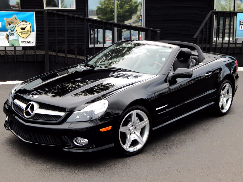 2009 Mercedes-Benz SL-Class SL550 AMG Package