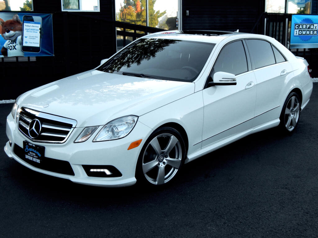 2011 Mercedes-Benz E-Class AMG Package E350