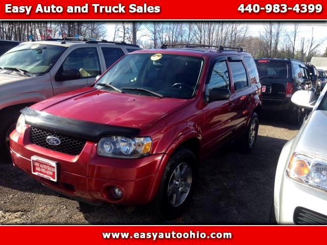 used 2005 ford escape for sale in madison oh 44057 easy. Black Bedroom Furniture Sets. Home Design Ideas