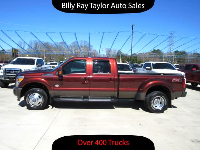 2015 Ford F-350 SD King Ranch Crew Cab 4WD DRW