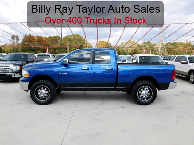 used 2009 dodge ram 1500 slt quad cab 4wd for sale in cullman al 35058 billy ray taylor auto sales. Black Bedroom Furniture Sets. Home Design Ideas