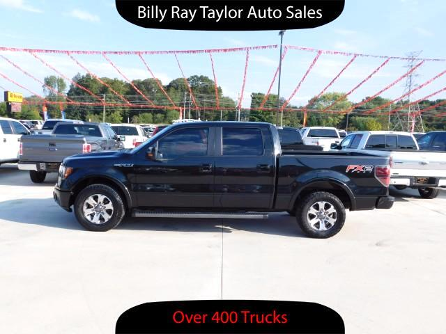2012 Ford F-150 FX2 SuperCrew 5.5-ft. Bed 2WD