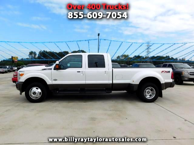 2016 Ford F-350 SD King Ranch Crew Cab 4WD DRW