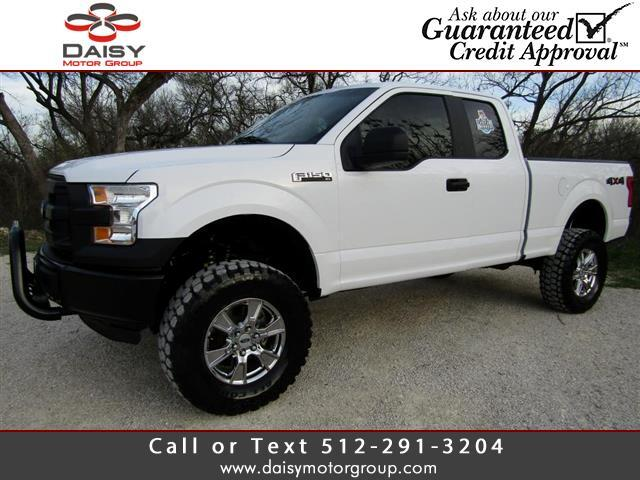 2015 Ford F-150 XL 4WD SuperCab 6.5' Box