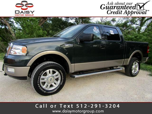 2004 Ford F-150 Lariat 4WD SuperCrew 5.5' Box