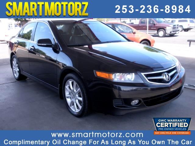 2008 Acura TSX 6-Speed MT with Navigation