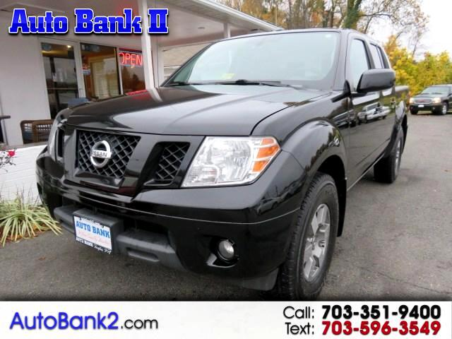 2011 Nissan Frontier PRO-4X Crew Cab 5AT 4WD