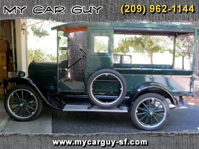 1925 Durant Star CC Open Delivery Truck