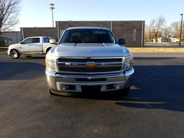 "2012 Chevrolet Silverado 1500 4WD Double Cab 143.5"" LT w/1LT"