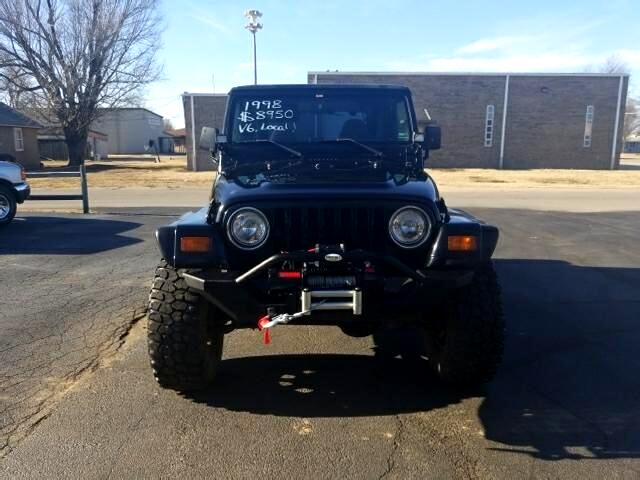 1998 Jeep Wrangler 4WD 2dr Sport