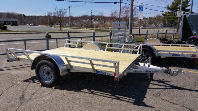 2015 Mission Utility Model- Wood Deck with Ramp MATV 83x10