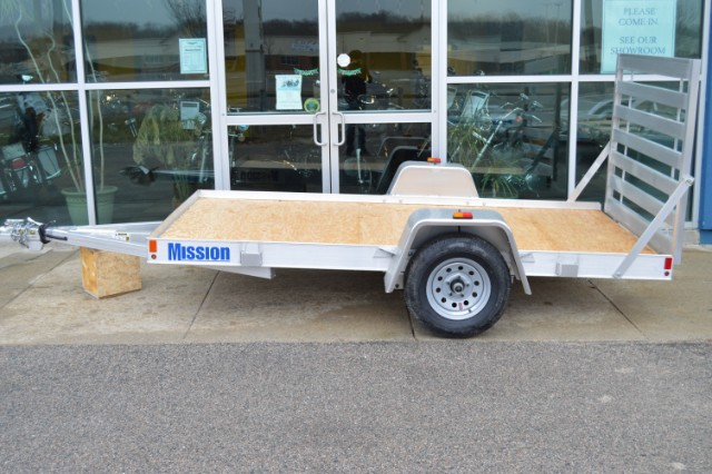2016 Mission Utility Model- Wood Deck with Ramp MU 60x10 DL-W