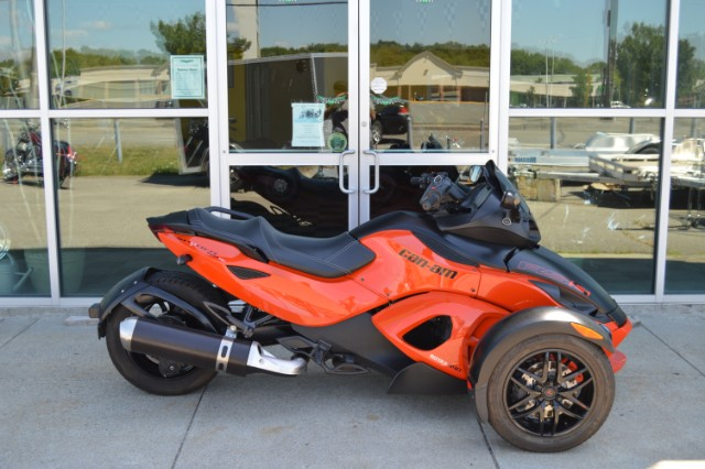 2012 Can-Am Spyder RSS-SM5