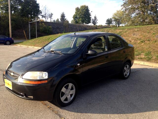 2006 Chevrolet Aveo Special Value Sedan
