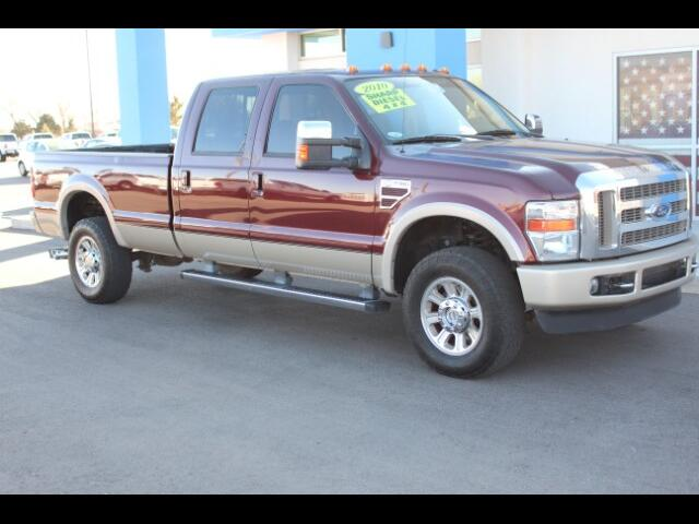2010 Ford F-350 SD King Ranch Crew Cab Long Bed 4WD
