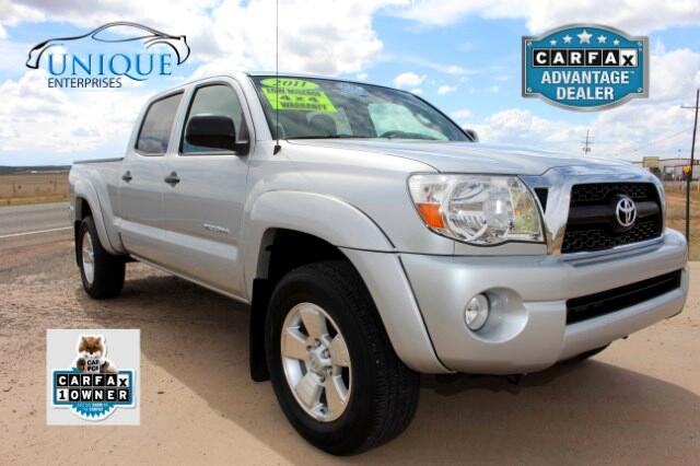 Nissan Dealer Long Beach 2011 Toyota Tacoma Double Cab LB V6 4WD Used Cars in Moriarty, NM