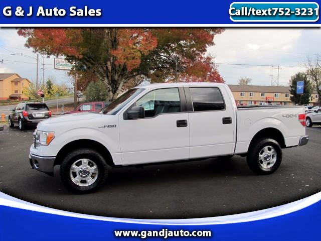 2014 Ford F-150 4WD Super Crew XLT