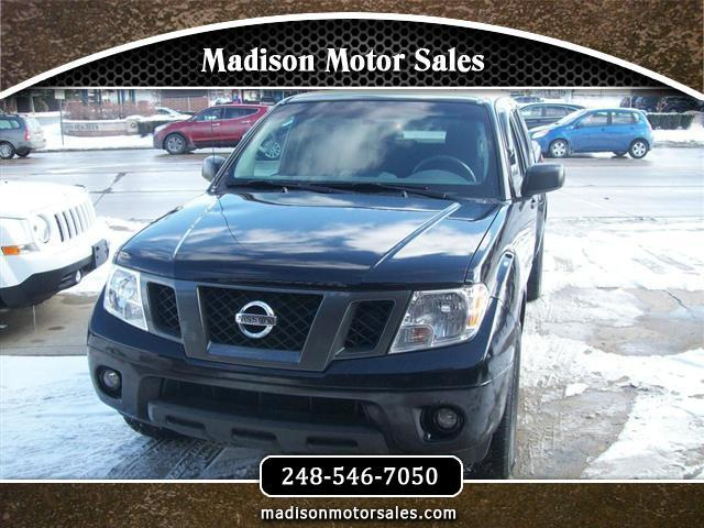 2012 Nissan Frontier S Crew Cab 2WD