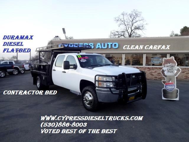 2011 Chevrolet Silverado 3500HD WorkTruck Crew Cab 2WD DIESEL