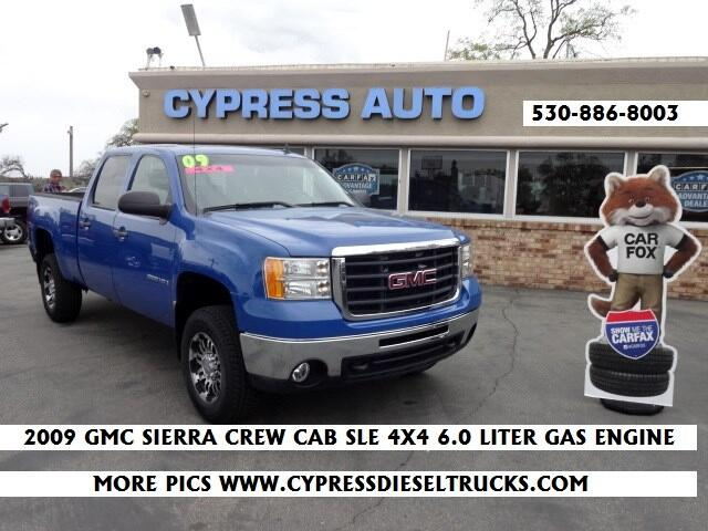 2009 GMC Sierra 2500HD Work Truck Crew Cab Std. Box 4WD