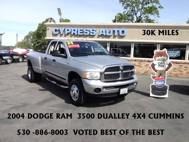 2004 Dodge Ram 3500 SLT Quad Cab Long Bed 4WD DRW Cummins Diesel